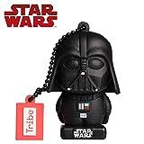 Llave Usb 32 Gb Darth Vader Tlj - Memoria Flash Drive 2.0 Original Star Wars, Tribe Fd030709, Negro