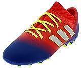 Adidas Nemeziz Messi 18.3 AG J - Botas de fútbol unisex para niños, Multicolor (Rojact/Plamet/Fooblu 000) 36 EU