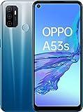Oppo A53S - Smartphone 128GB, 4GB RAM, Dual Sim, Fancy Blue