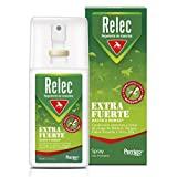 Relec Extra Fuerte Spray Antimosquitos, Repelente de Mosquitos, Eficaz Contra El Mosquito Tigre, Eficacia y Protección Contra las Picaduras de Mosquitos en Condiciones Extremas y Zonas Tropicales