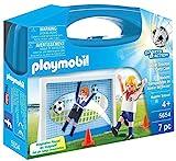 Playmobil Fútbol- Maleta Playmobil Playset, 5,5 x 21 x 16,3 cm (5654)