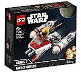 LEGO Star Wars - Microfighter: Ala-Y de la Resistencia, Juguete de la Película Guerra de las Galaxias Episodio 9, con Torreta Giratoria, Incluye Minifigura de Zorii Bliss (75263)