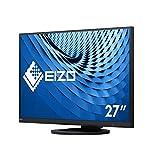 EIZO FlexScan EV2760-BK - Monitor Profesional LED Display 68,6 cm (27') 2560 x 1440 Pixeles Quad HD Plana Negro FlexScan EV2760-BK, 68,6 cm (27'), 2560 x 1440 Pixeles, Quad HD, LED, 5 ms, Negro