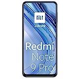 Xiaomi Redmi Note 9 Pro - Smartphone 6+64GB (6.67', Cámara cuádruple 64 MP, Q-SnapdragonTM 720G, Batería 5020mAh, 30W carga rápida), Alexa Hands-Free, Gris [Versión ES/PT]