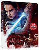 Star Wars - Gli Ultimi Jedi (Blu-Ray 3D+Blu-Ray) (Ltd Steelbook) [Blu-ray]