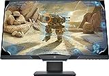 HP 25mx – Monitor Gaming de 25' Full HD (1920 x 1080 a 144Hz, TN, 1 ms, HDMI, Antirreflejo, Low Blue Light, Altura e Inclinación Ajustables) Negro