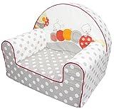 Bubaba Silla para bebé en 12 motivos, goma espuma rígida - extra-ligero, apenas 1kg - Producto de la UE, Model:Grey Caterpillar
