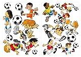 Pegatina de Pared Pegatinas Pared del Cuarto fútbol Pegatinas para el Parachoques
