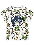 LEGO Camiseta de Manga Corta para niños Jurassic World Blanco 10-11 Años